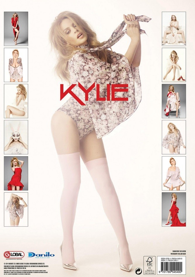 Kylie Minogue Calendars 2015 On Europosters