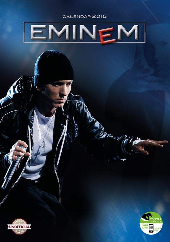 Eminem calendars 2015 on europosters for Eminem wall mural