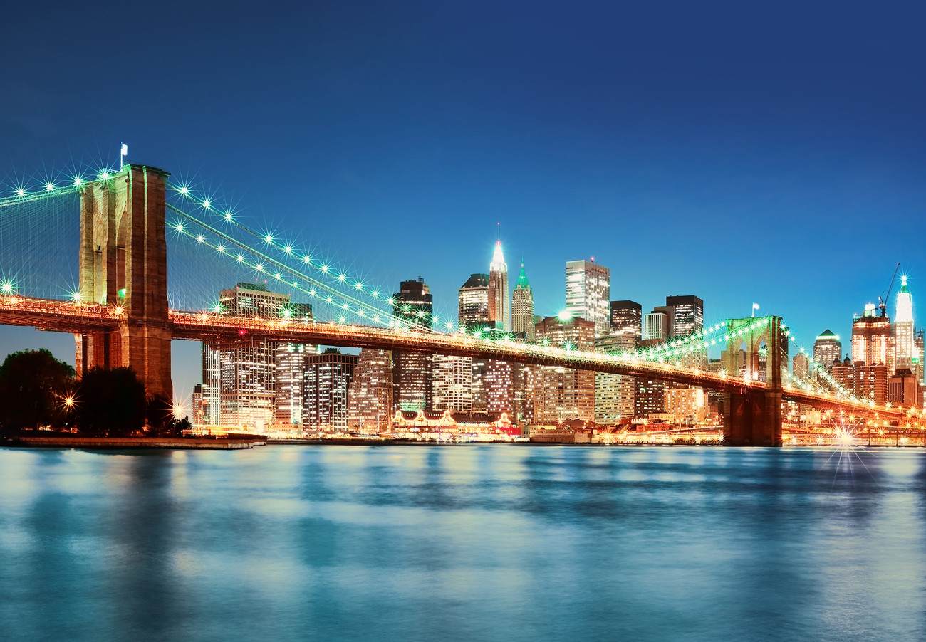New york east river poster mural acheter le sur - Poster mural new york ...