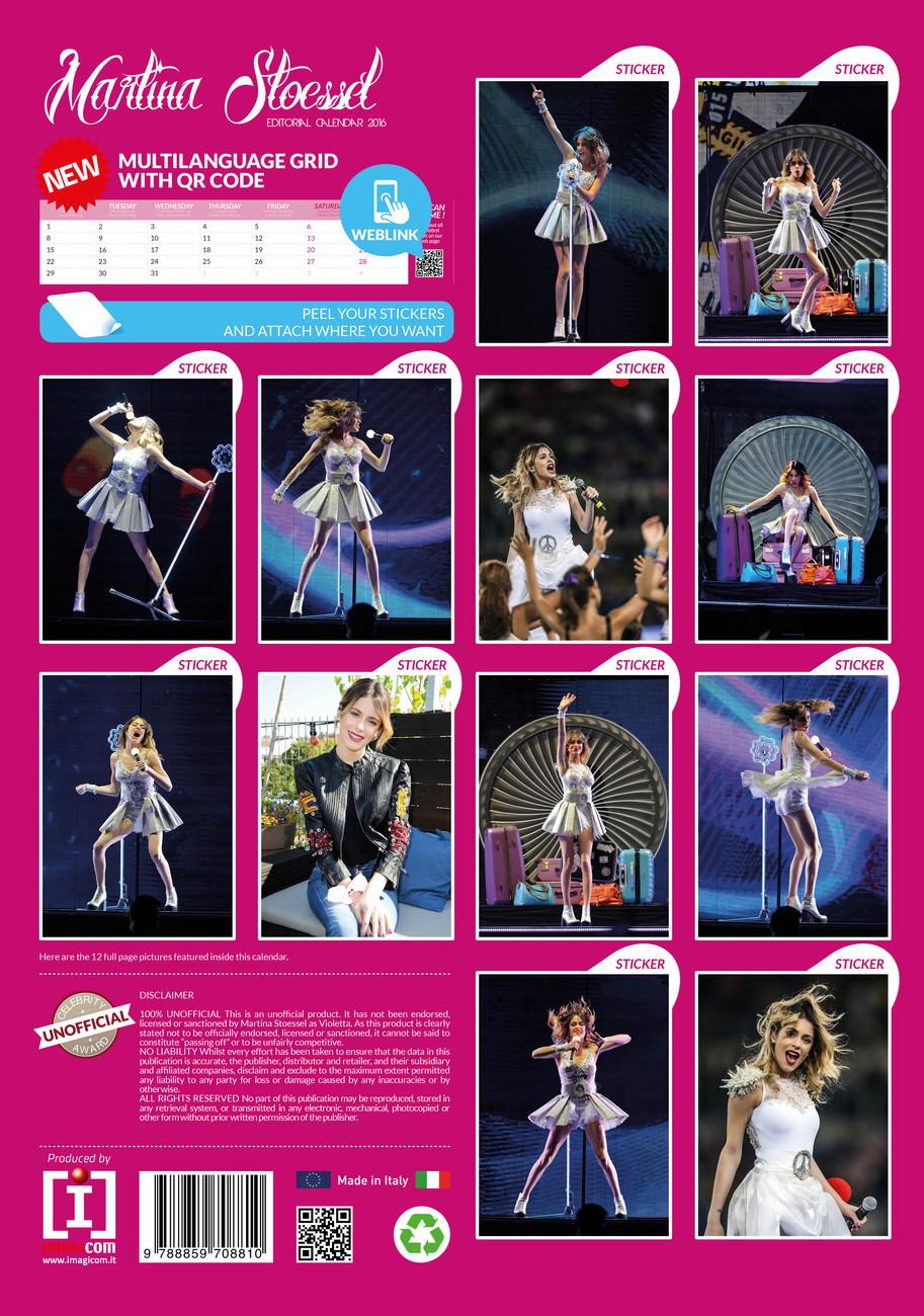 Violetta - Calendars 2016 on EuroPosters