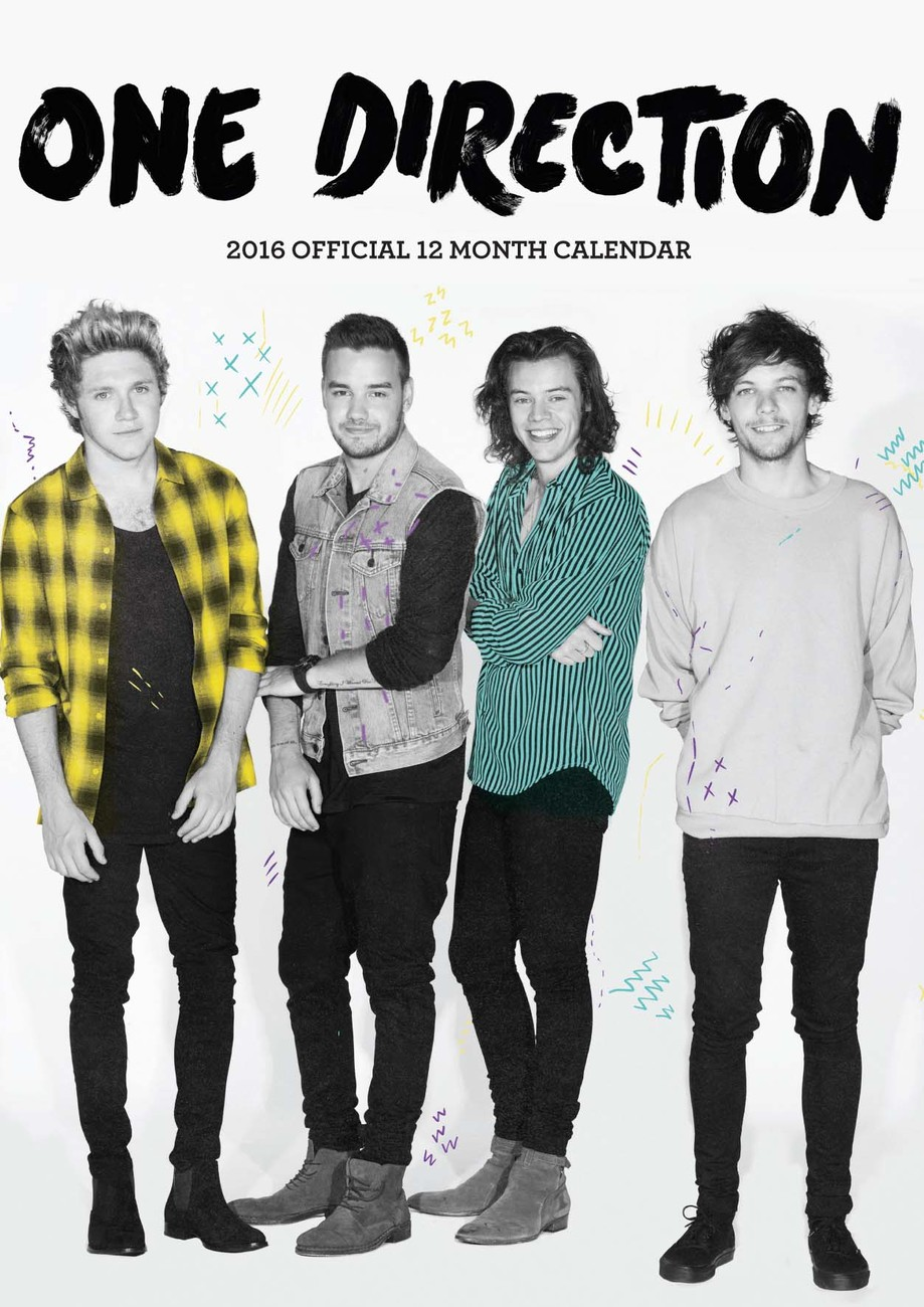 One Direction 1D - Calendars 2016 on EuroPosters