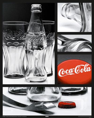 coca cola photo compilation poster affiche acheter le sur. Black Bedroom Furniture Sets. Home Design Ideas