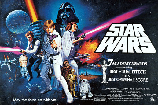 star wars a new hope affiche poster acheter en ligne sur europosters. Black Bedroom Furniture Sets. Home Design Ideas