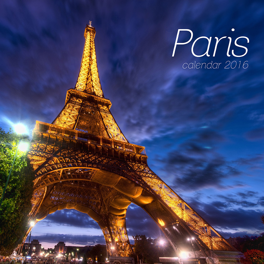 Magnets For Cars >> Paris - Calendars 2016 on EuroPosters