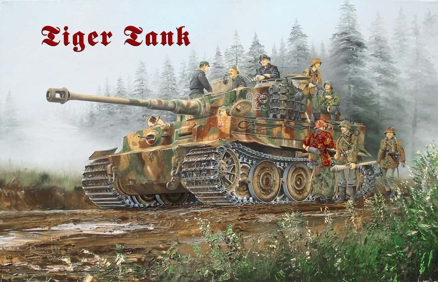 Tiger Tank Tin Signs Metal Signs Sold At Europosters