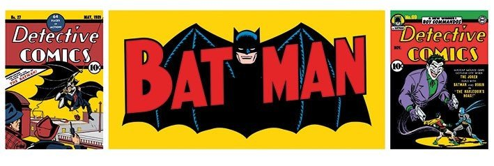 Plakat BATMAN - triptych