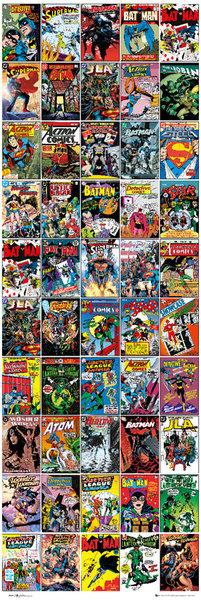 Plakat DC COMICS - covers