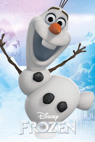 Frozen: El Reine del hielo - Olaf pósters / láminas - Compra en