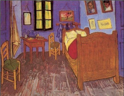 Bedroom in Arles 1888 Art Print