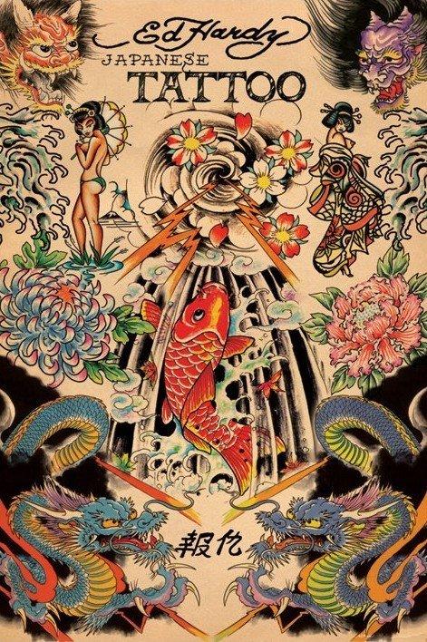 Posters > Posters > Estilo de vida > Ed Hardy - japanese tattoo