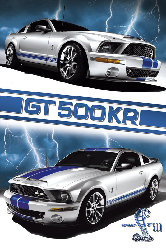 Ford Shelby Mustang Gt 500 Poster Europosters