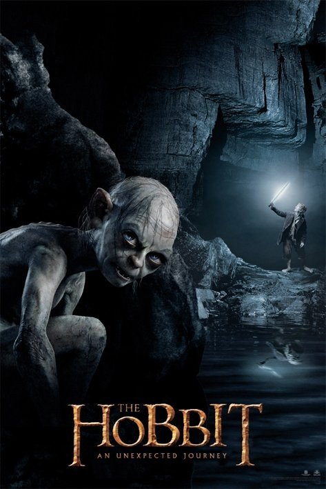 Hobbit Gollum Poster Sold At Europosters