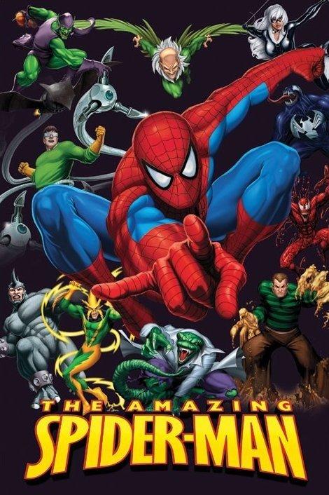 «Смотреть Мультик Совершенный Человек Паук Сезон 4» — 2002