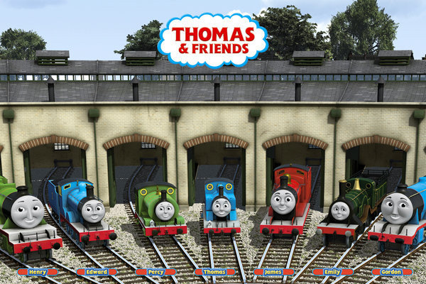 THOMAS AND FRIENDS - garage Poster : Sold at Europosters