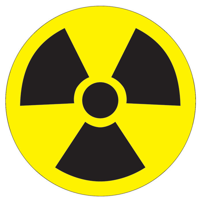 Toxic Waste Symbol Sticker Sold At Europosters