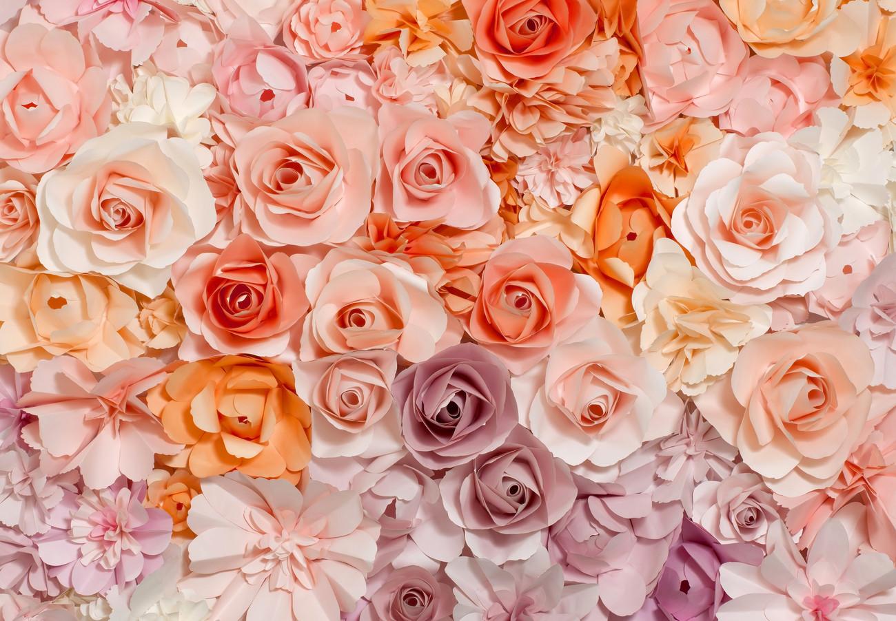 Цветы с на стену