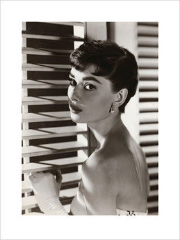 Audrey Hepburn - Blinds  posters | photos | pictures | images