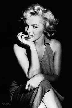 MARILYN MONROE - sitting posters | art prints
