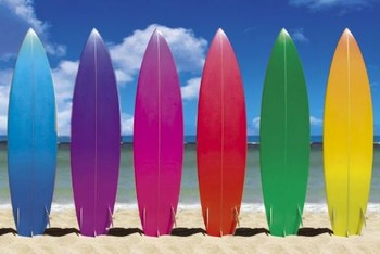 SURF BOARDS posters | art prints
