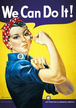 WE CAN DO IT ! posters | art prints