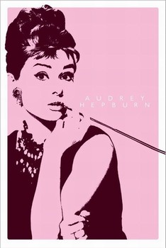 AUDREY HEPBURN II - cigarello Affiche, poster, photographie