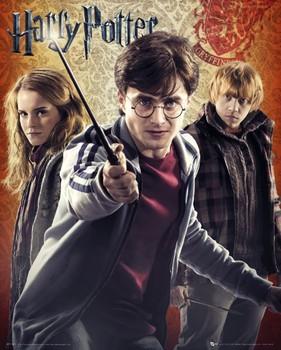 HARRY POTTER 7 - trio Poster