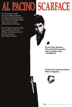 SCARFACE - movie Affiche, poster, photographie