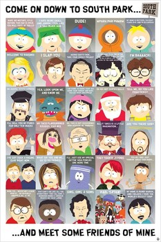 SOUTH PARK - quotes 2 Affiche, poster, photographie