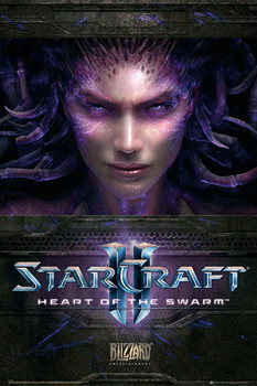 STARCRAFT 2 - heart of the swarm Affiche, poster, photographie