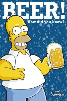 THE SIMPSONS - how did you know? Affiche, poster, photographie