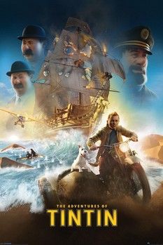 TINTIN  international one sheet Affiche, poster, photographie