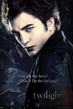 TWILIGHT - edward broken glass Affiche, poster, photographie