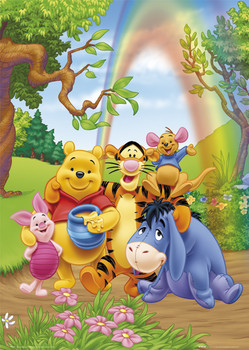 WINNIE THE POOH - group Affiche, poster, photographie