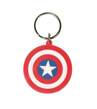 MARVEL - captain america shield Breloczek