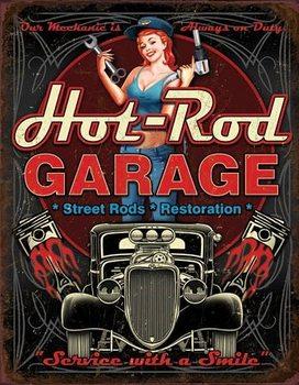Hot Rod Garage - Pistons Carteles de chapa