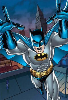 Batman - Roof Fototapeta