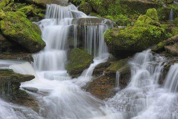 Wodospad Fototapeta