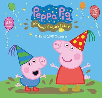 Świnka Peppa - Peppa Pig Kalendarz