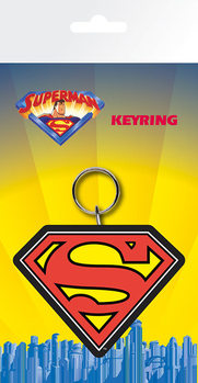 Superman - Logo Keyring