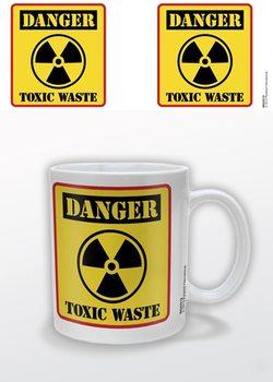 Danger Toxic Waste Kubek