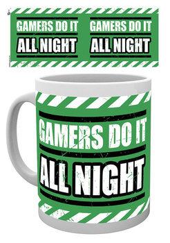 Gaming - All Night Kubek