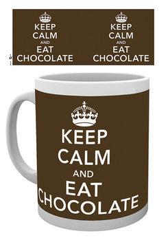 Keep Calm and Eat Chocolate Kubek