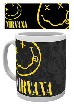 Nirvana - Smiley Kubek