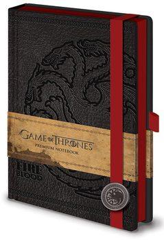 Gra o tron - Targaryen Premium A5 Notebook Materiały Biurowe
