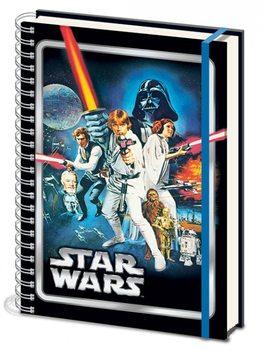 Gwiezdne wojny - A New Hope A4 Notebook Materiały Biurowe