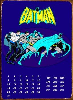 Metalowa tabliczka BATMAN TRANSFORM