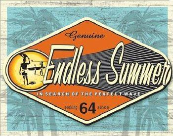 Metalowa tabliczka ENDLESS SUMMER - genuine