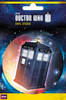 Naklejka Doctor Who - Tardis