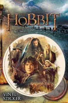 Naklejka Hobbit: Pustkowie Smauga - Collage