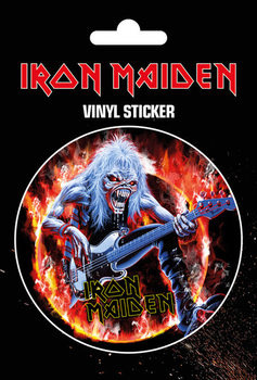 Naklejka Iron Maiden - Fear Live Flames